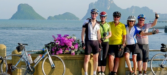 Cycling holidays with your friends