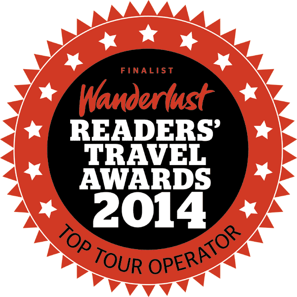 Accolades Wanderlsut travel awards 2014