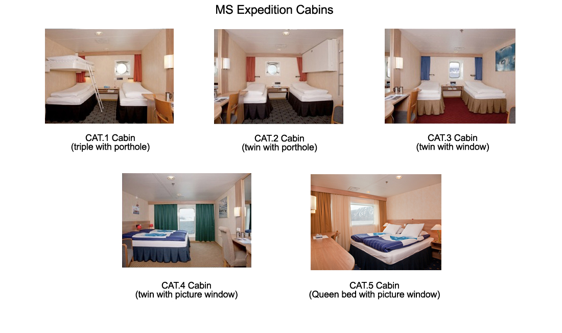 G Adventures Cabin Types