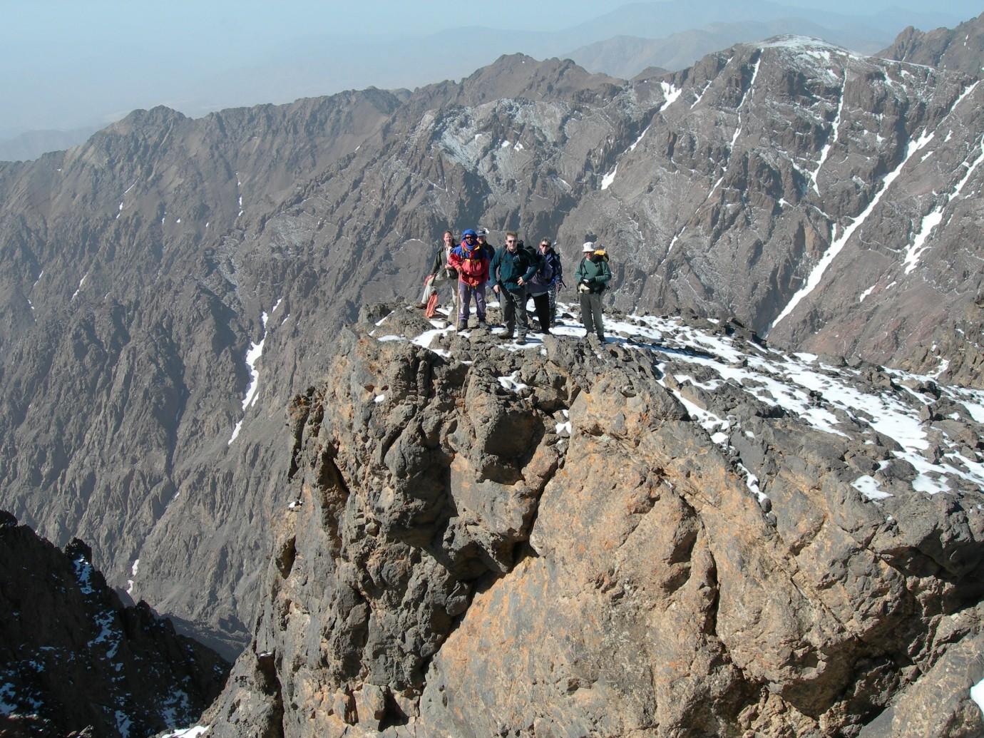 4167 m - Toubkal (Marokkó)