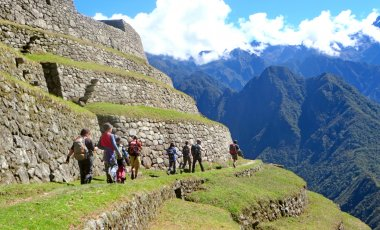 Teenage Inca Trail Trek