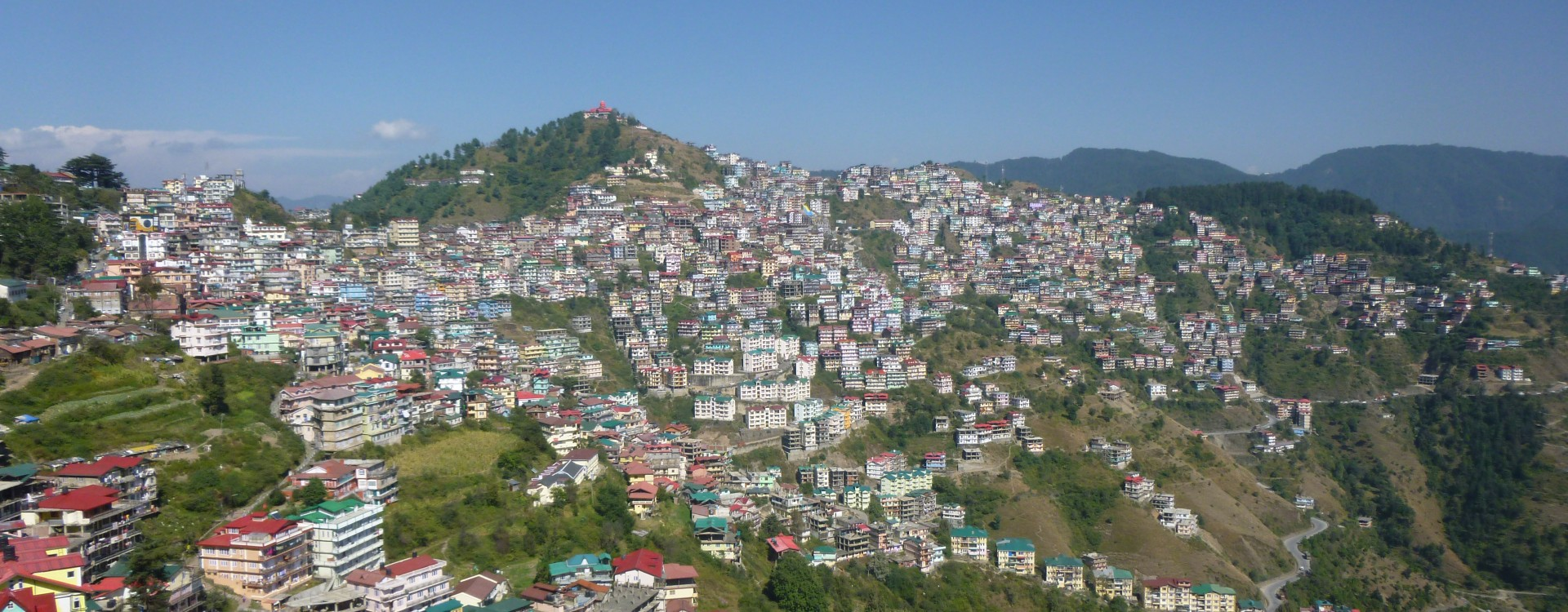 Shimla, summer home of the British Raj