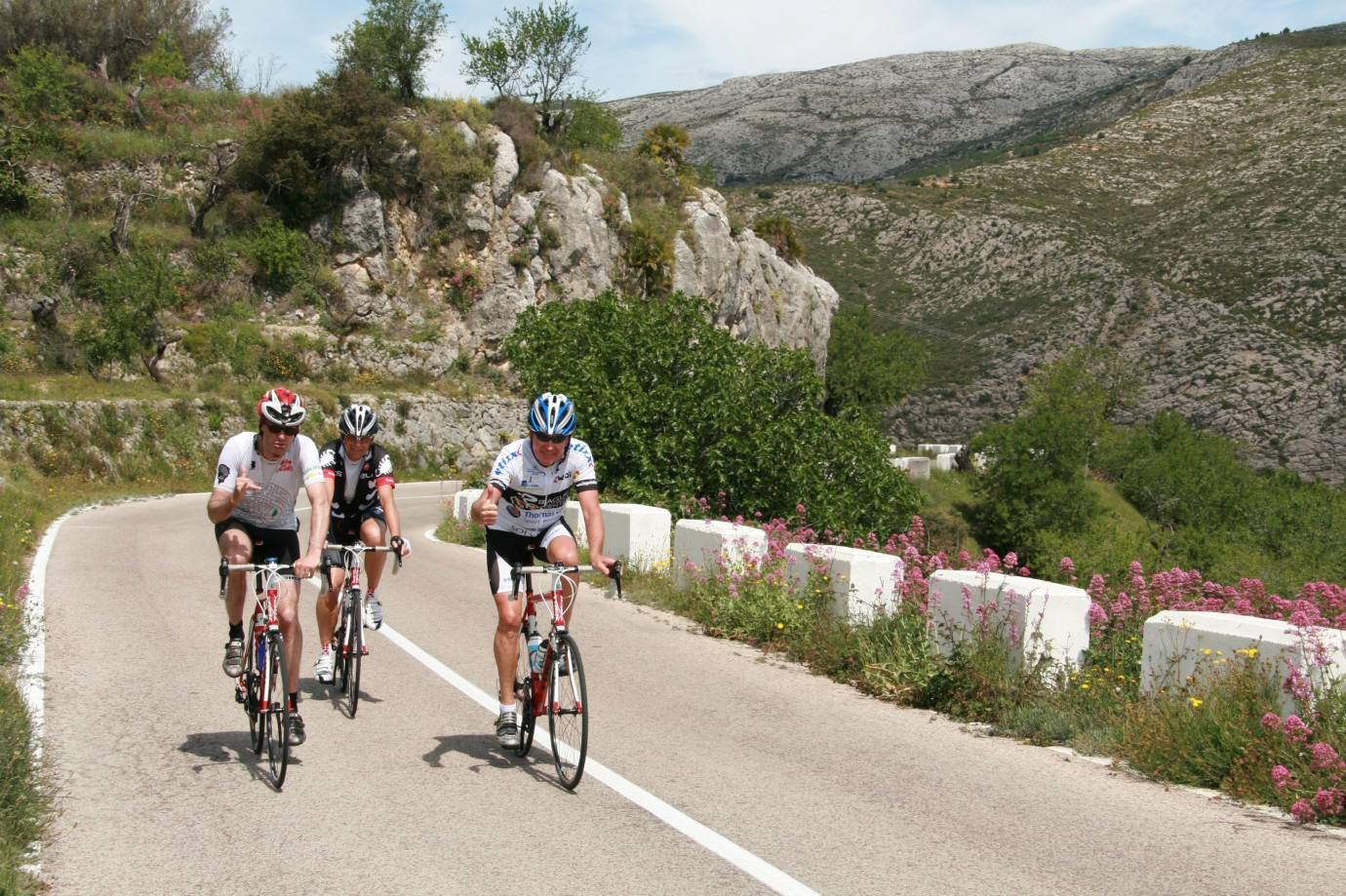 Road Cycling on the Costa Blanca of Spain