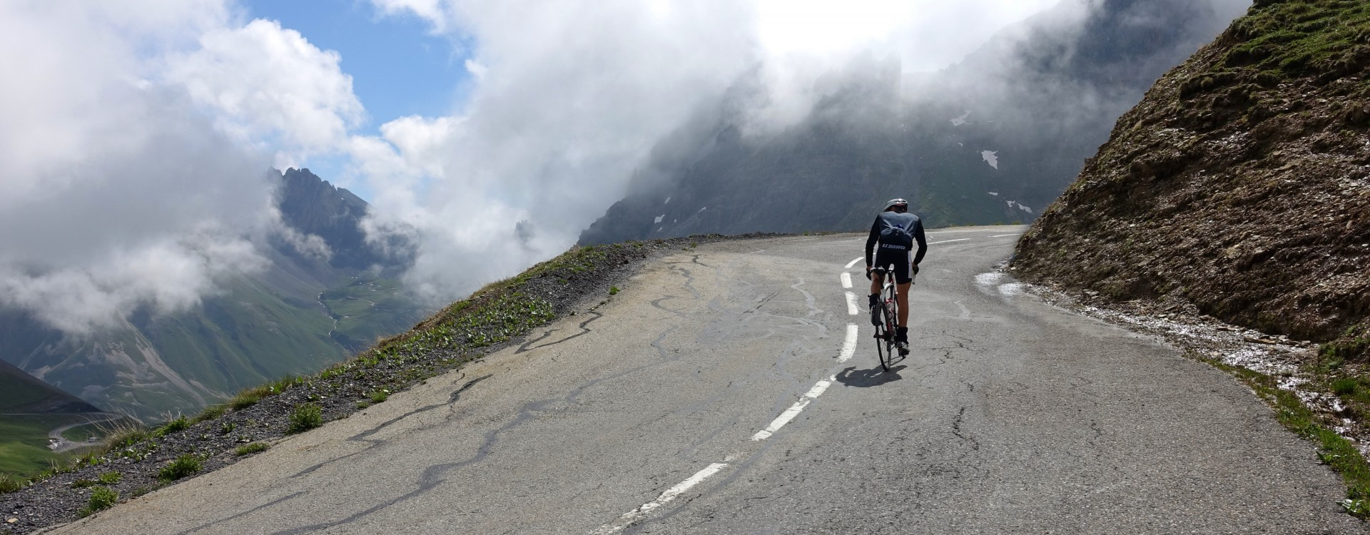 On the ascent of the Galibier