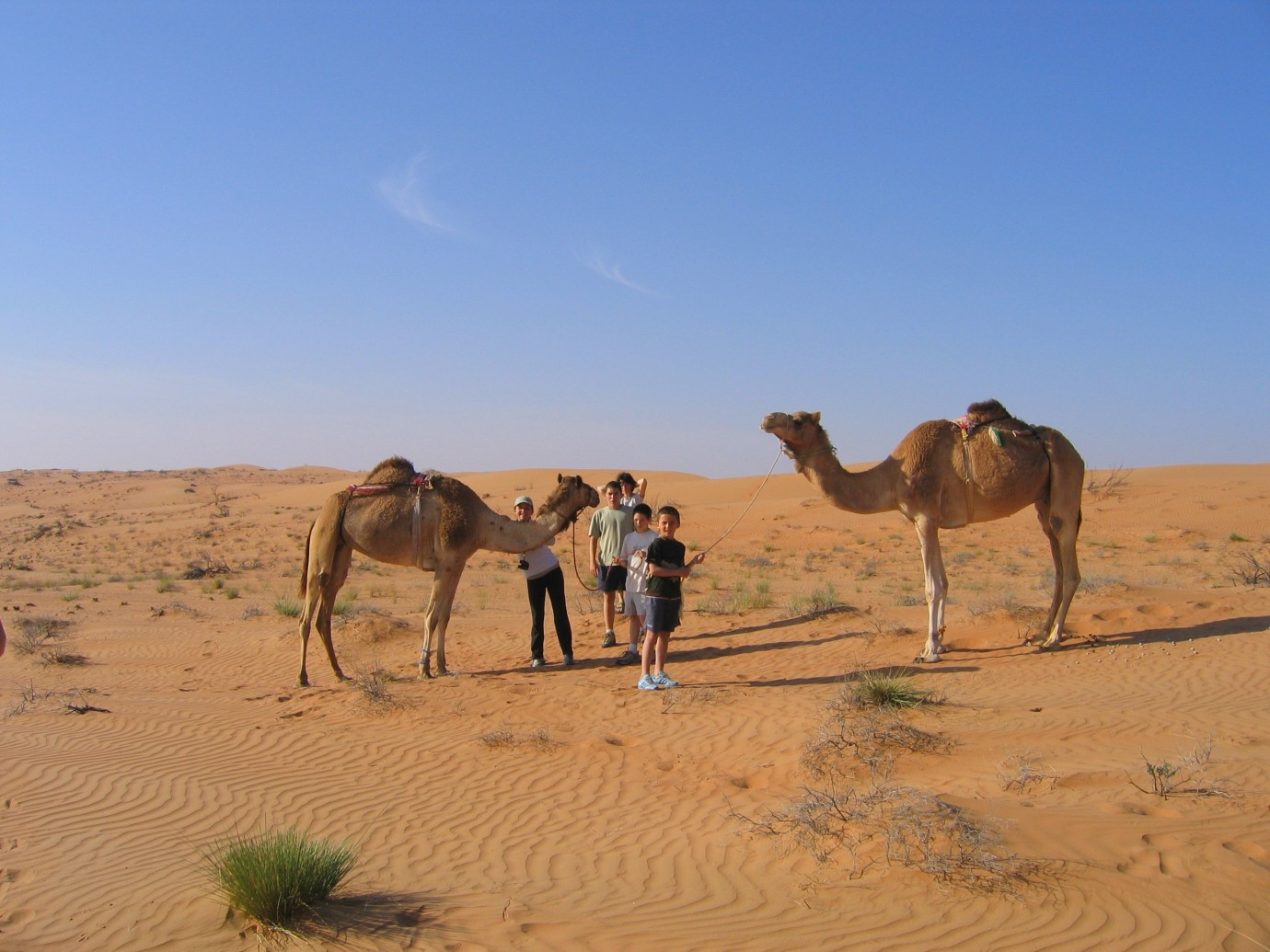 Family Adventure Holiday In Oman