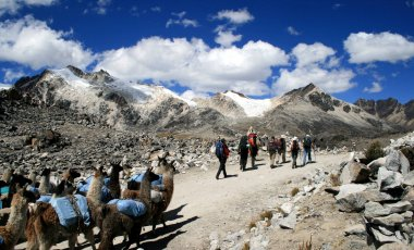 Traverse of Bolivia's Cordillera Real