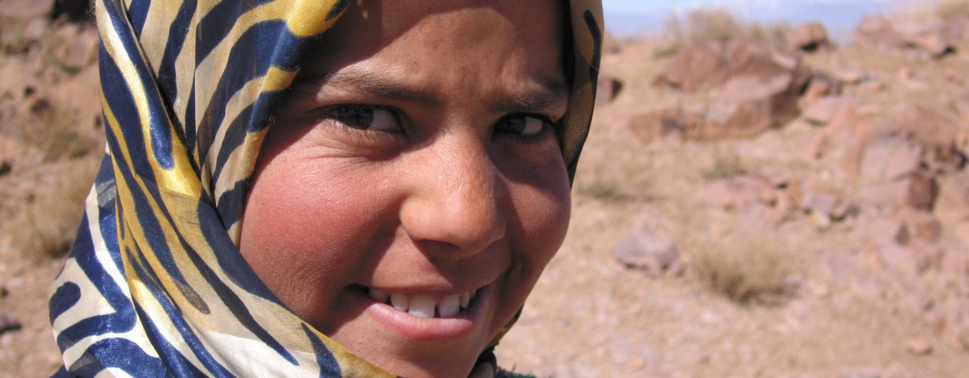 Berber girl in the Jebel Sahro