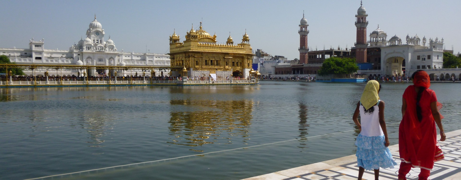 Morning visit to the Golden Temple at Amritsar