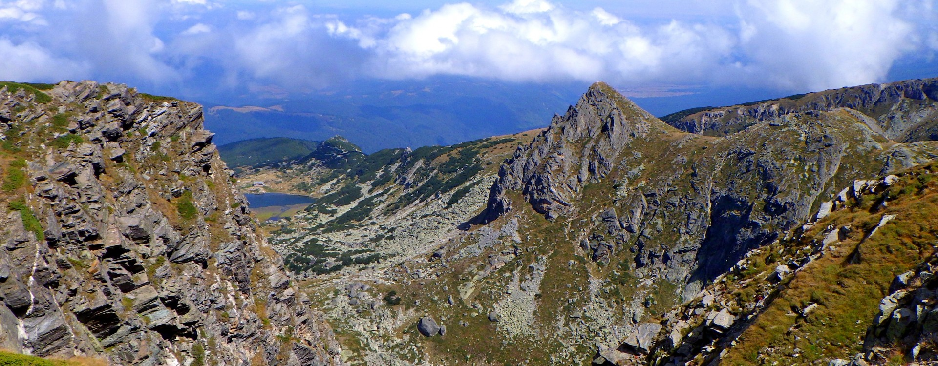 The ridges of Bulgaria