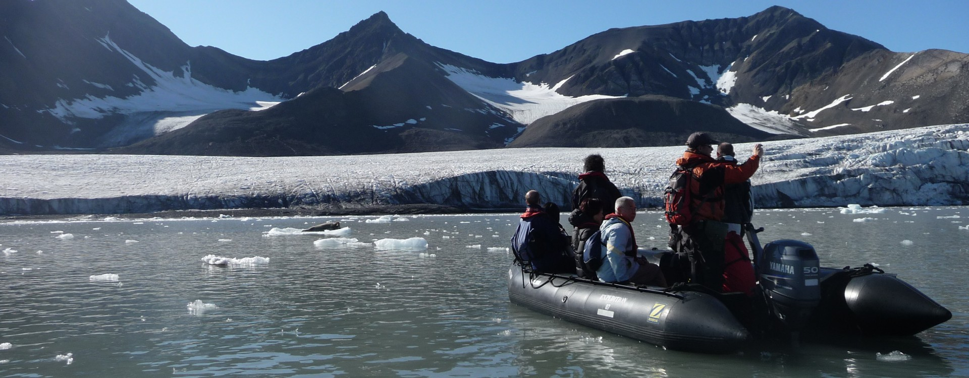 Zodiac Excursion in the Arctic