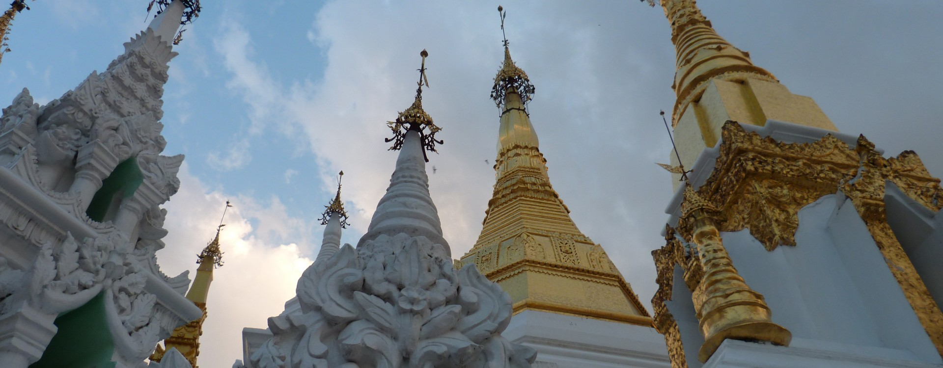 Temples of the Shwedagon Pagoda