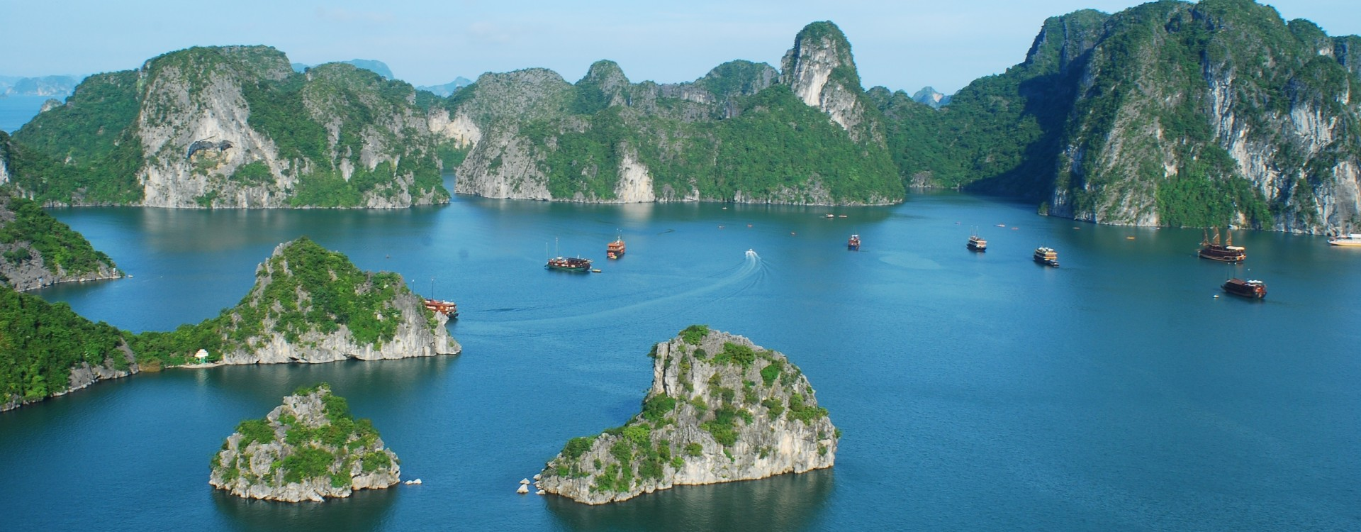 Halong Bay views
