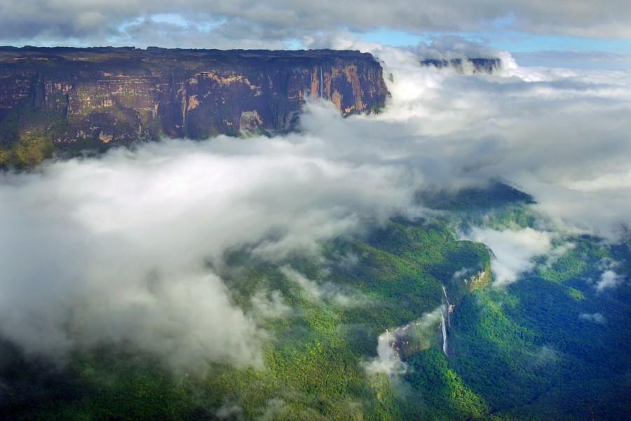 Mount Roraima And Angel Falls