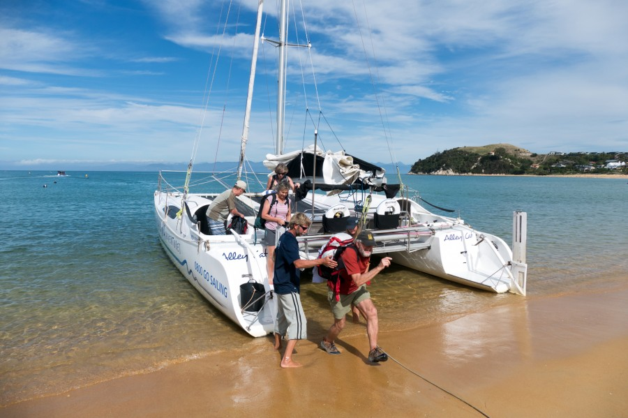 how to get from north to south island new zealand