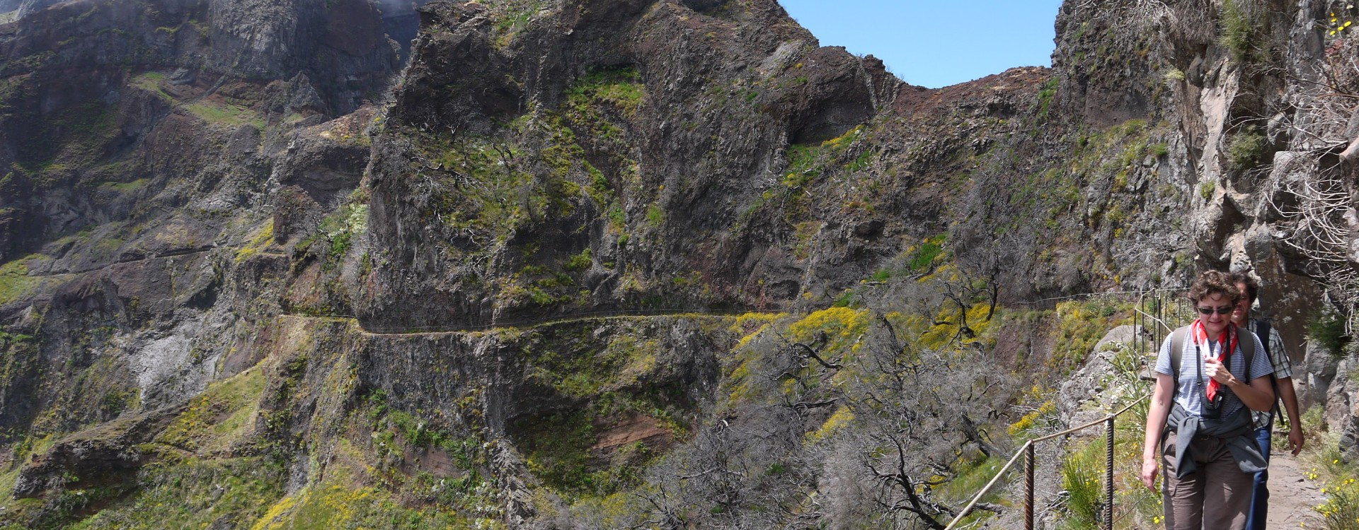 Day walks on the island of Madeira