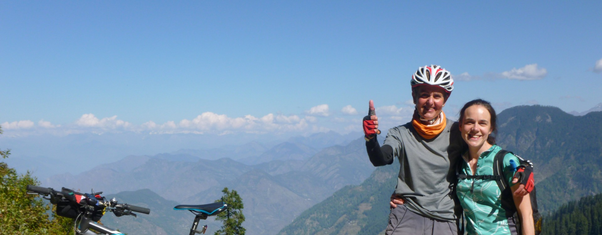 Cycling in the foothills of the Indian Himalaya