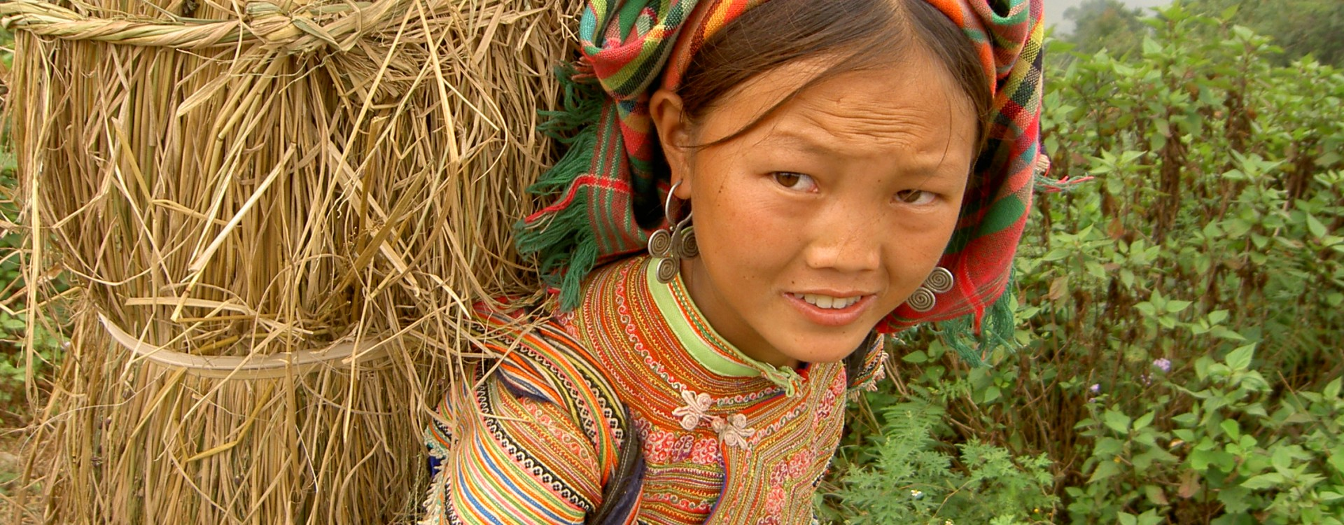 Hill tribe lady, Vietnam