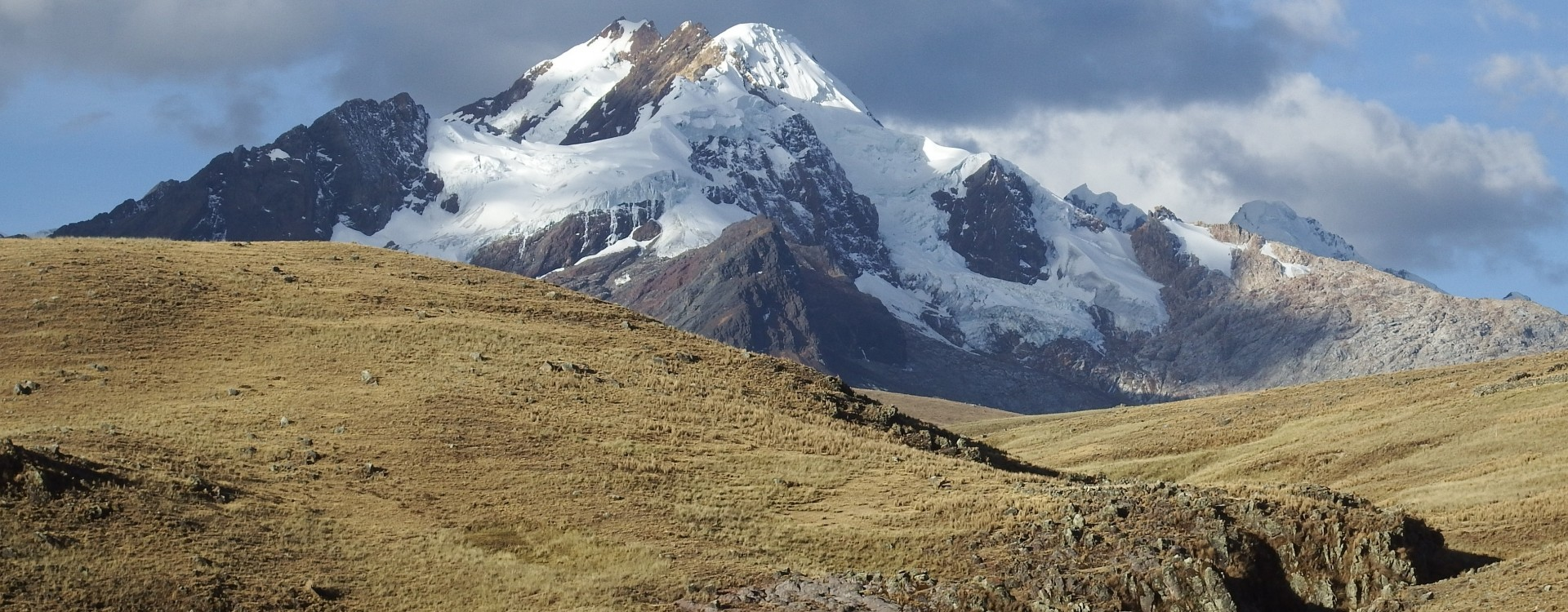 Approaching the mountains, Cordillera Blanca