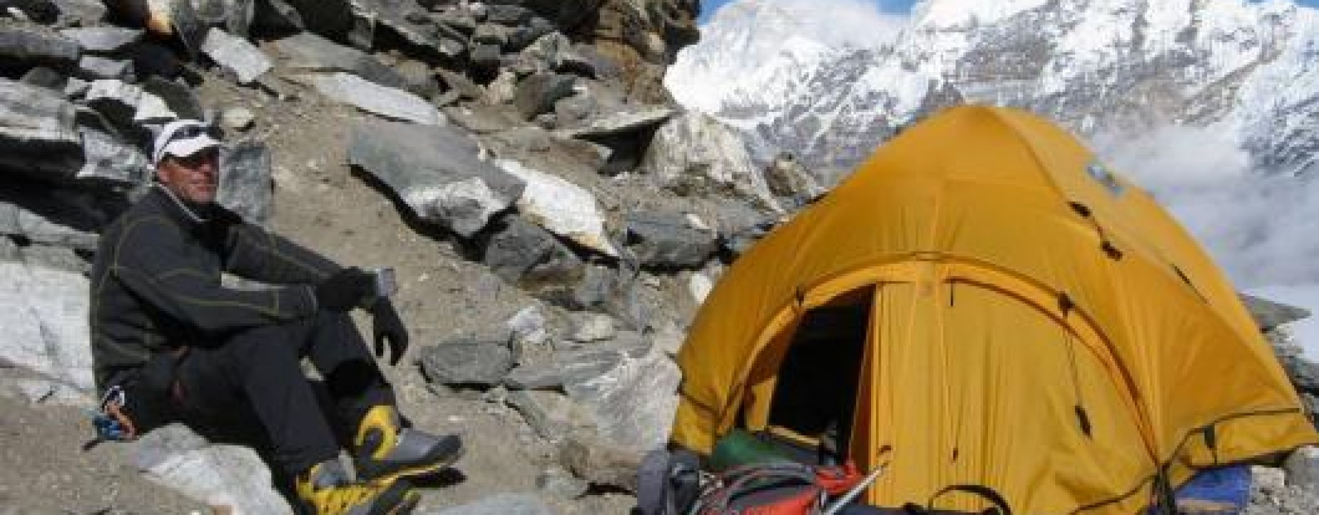 High Camp at 5800 metres on Mera Peak