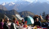 Breakfast in the Gauri Ganga valley