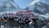 Mount Everest Marathon 2012 Start Line
