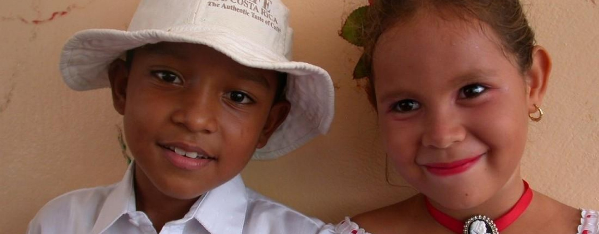 Costa Rican Children dressed up