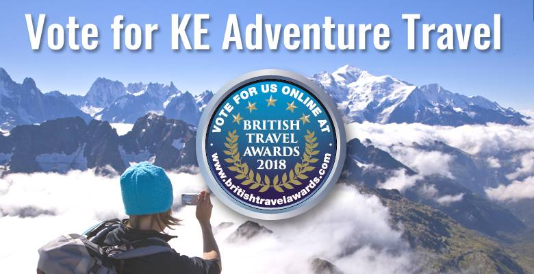 Nominated for British Travel Award
